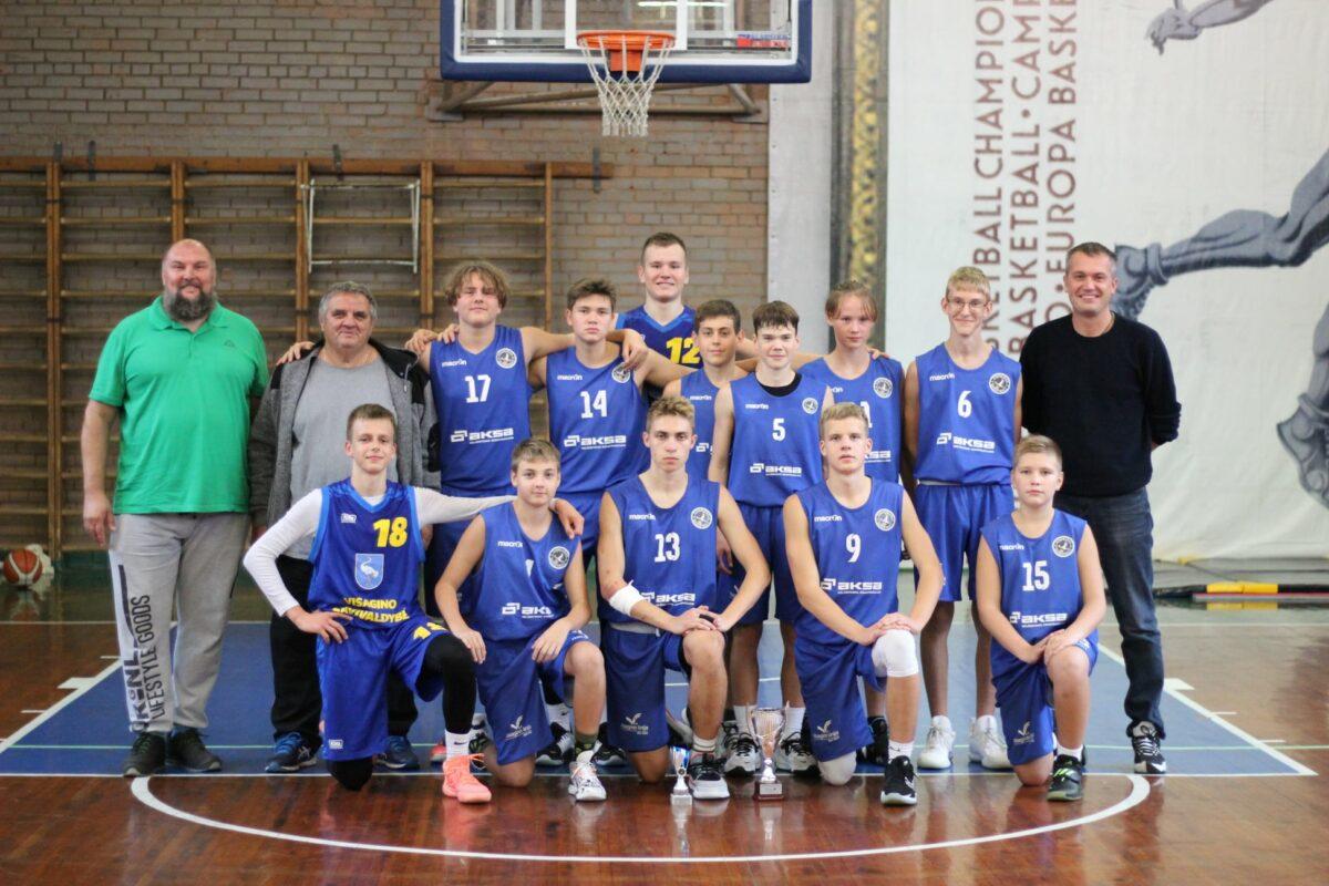 Visagino krepšinio mokyklos 2005-06 m.g. komanda